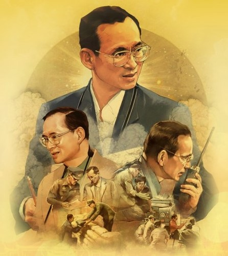 Anniversary of the Death of King Bhumibol